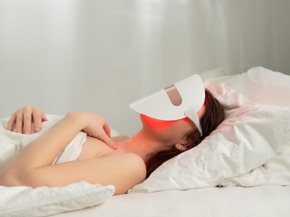 LED skincare mask