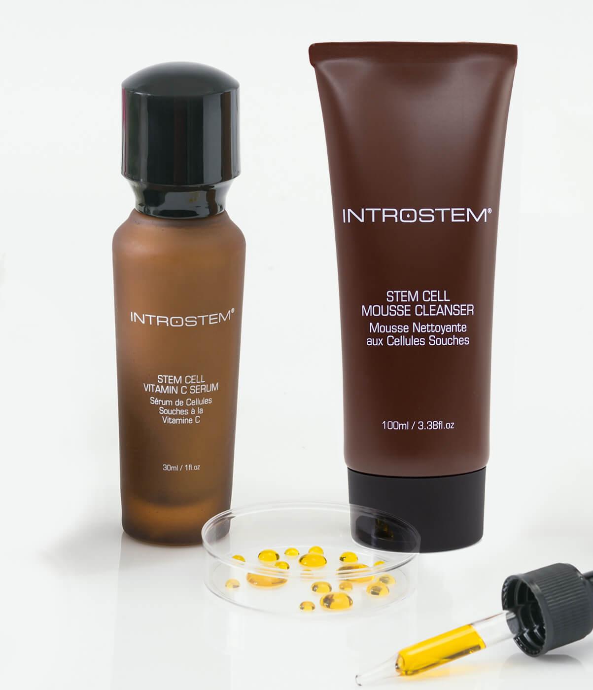 Introstem skincare products