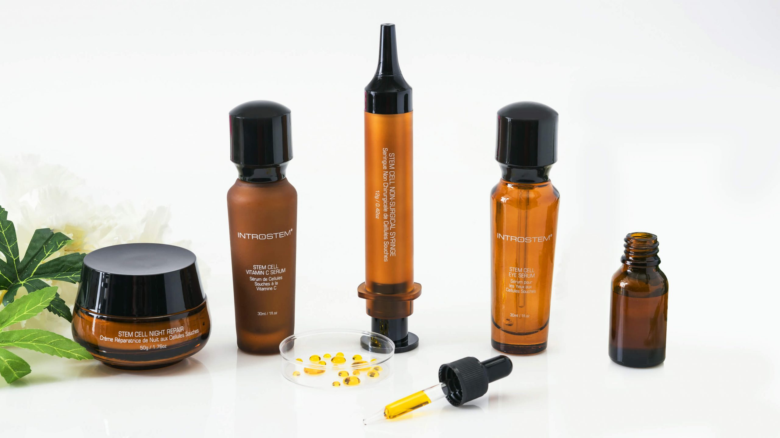 Stem cell skin care products from Introstem Skincare